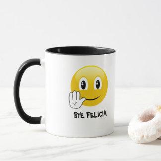 Emoji Bye Felicia Coffee Mug