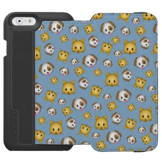 Emoji Cats & Dogs Incipio Watson™ iPhone 6 Wallet Case