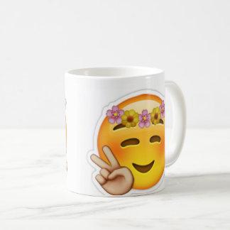 emoji coffee mug