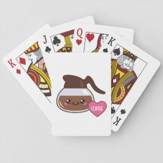 Emoji Coffee Pot Poker Deck