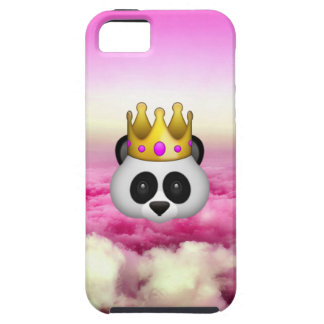 Emoji Crowned Panda iPhone 5 Case