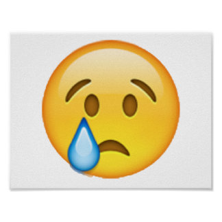 Emoji - Crying Poster