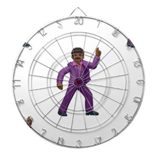Emoji Dancing Man Dartboard