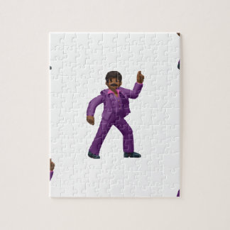 Emoji Dancing Man Jigsaw Puzzle