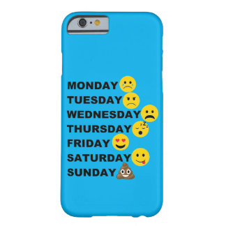 Emoji Days Barely There iPhone 6 Case