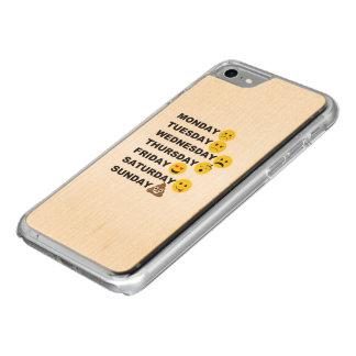 Emoji Days Carved iPhone 7 Case