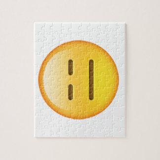 Emoji - Expressionless Jigsaw Puzzle