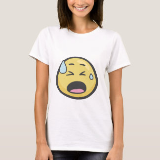 Emoji: Face With Cold Sweat T-Shirt