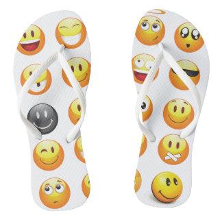 emoji flip flops sandals shoes thongs