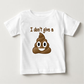 Emoji Give A Poo Baby T-Shirt