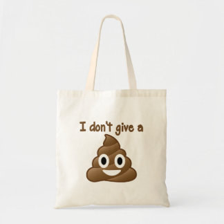 Emoji Give A Poo Tote Bag
