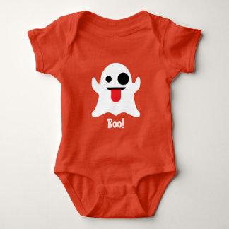 Emoji Halloween Boo Ghost Baby Bodysuit