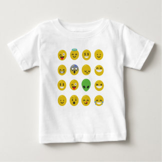 Emoji happy face baby T-Shirt