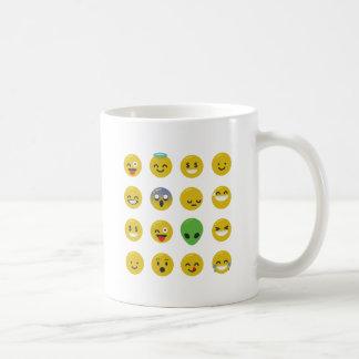 Emoji happy face coffee mug
