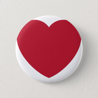 Emoji Heart Coils 6 Cm Round Badge