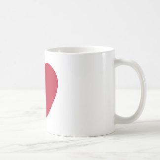 Emoji Heart Coils Coffee Mug
