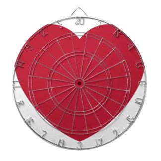 Emoji Heart Coils Dart Boards