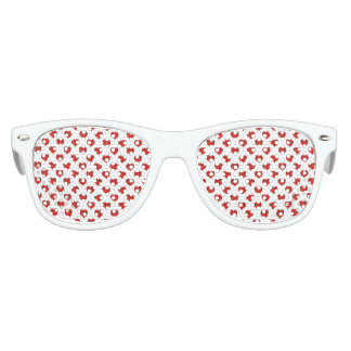 Emoji Heart Shape Drawing Pattern Kids Sunglasses