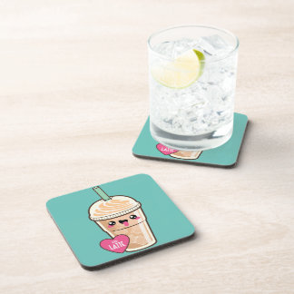 Emoji Iced Latte Coaster