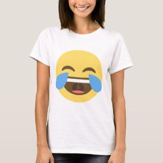 Emoji laughing tshirt