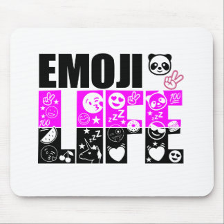 Emoji Life Mouse Pad