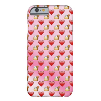 Emoji Lock and Key love ombre Barely There iPhone 6 Case