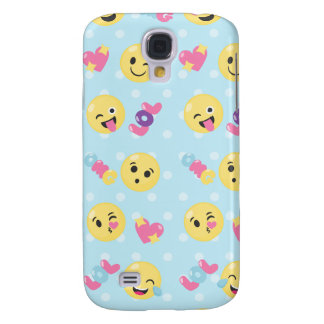 Emoji LOL OMG Galaxy S4 Cases
