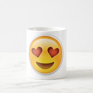 Emoji Love Heart Face Mug