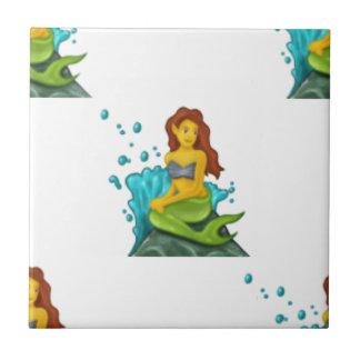 emoji mermaid tile