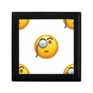 emoji monocle gift box
