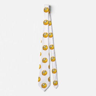 emoji monocle menswear mens necktie neck tie