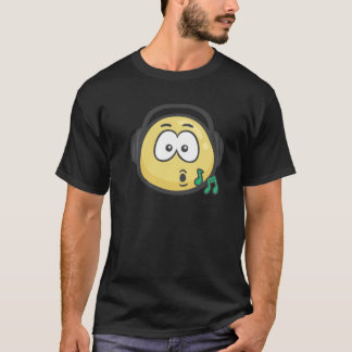 Emoji: Music Face T-Shirt