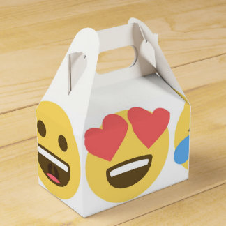 Emoji Party Favor Box- Emoji Faces Favour Box