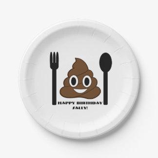 Emoji Party Plates