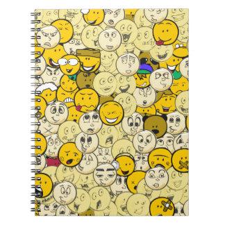 Emoji Pattern Notebooks