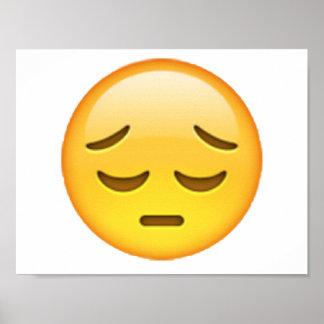 Emoji - Pensive Poster