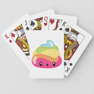Emoji Raimbow Poop! Playing Cards