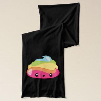 Emoji Raimbow Poop! Scarf