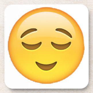 Emoji - Relieved Coaster