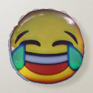 emoji round cushion