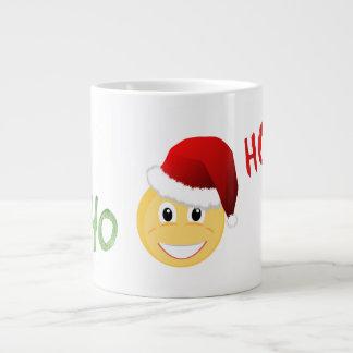 Emoji Santa Christmas Cup