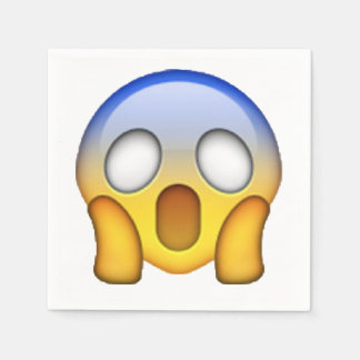 Emoji - Screaming Paper Napkin