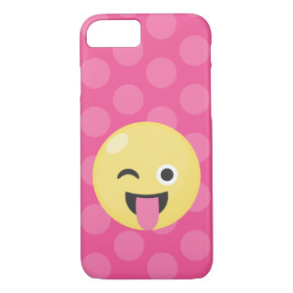 Emoji Silly Dots iPhone 8/7 Case