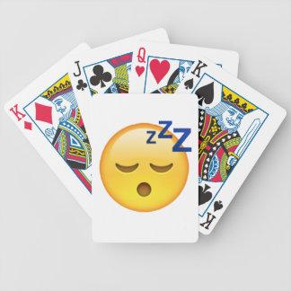 Emoji - Sleeping Bicycle Playing Cards