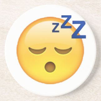 Emoji - Sleeping Coaster