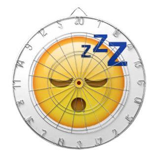 Emoji - Sleeping Dartboard