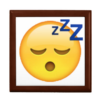 Emoji - Sleeping Gift Box