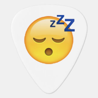 Emoji - Sleeping Plectrum