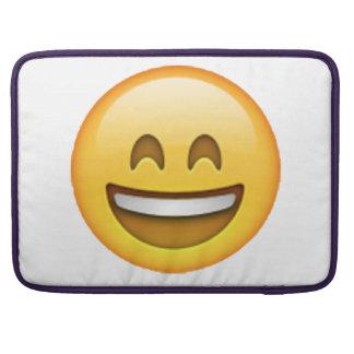 Emoji - Smile Closed Eyes Sleeve For MacBooks