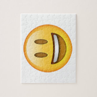 Emoji - Smile Open Eyes Jigsaw Puzzle